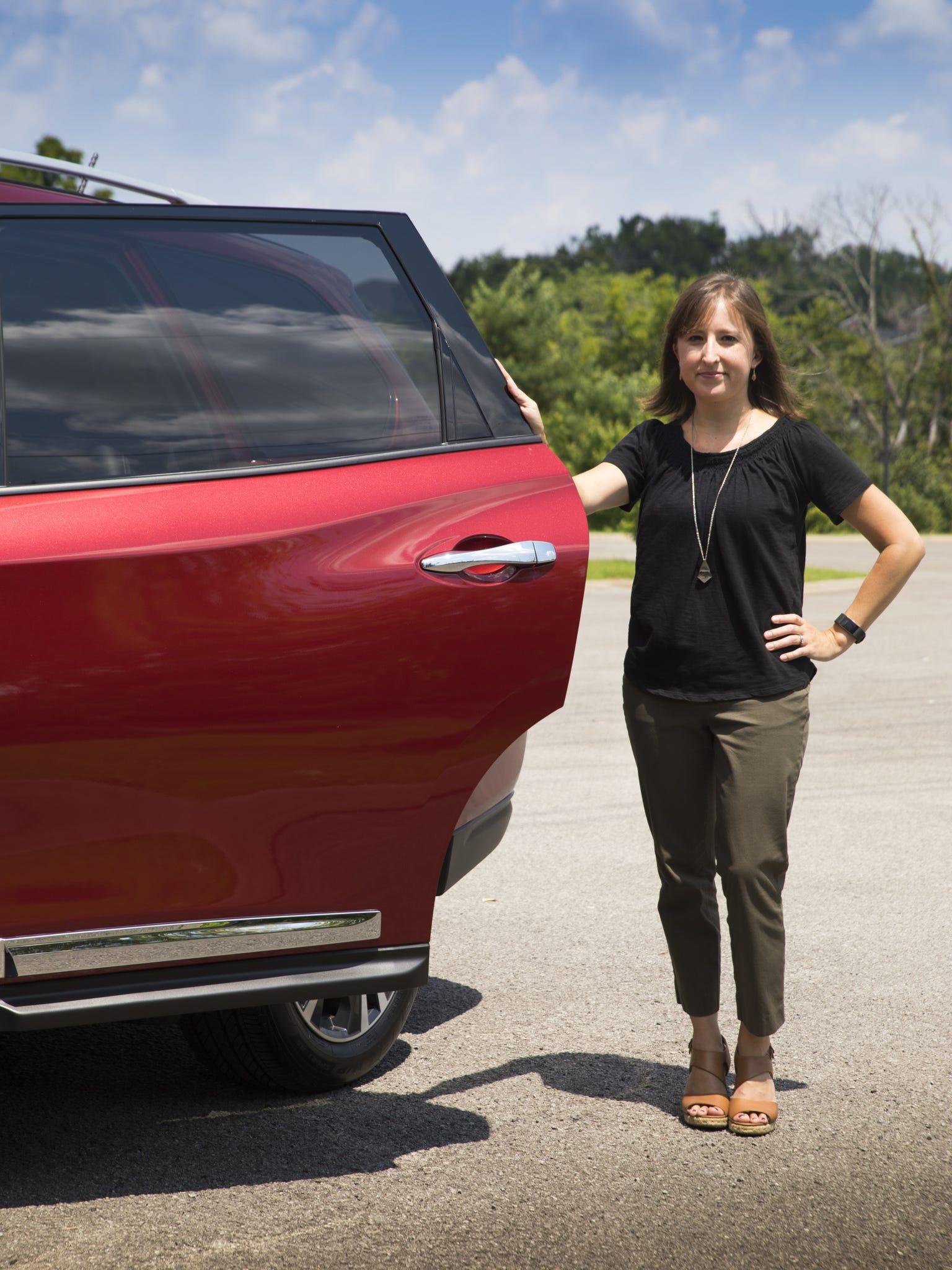 Nissan engineer Elsa Foley co-developed a rear-door alert system for the automaker.