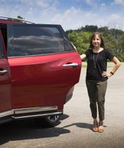 Nissan engineer Elsa Foley co-developed a rear-door alert system for the automaker.