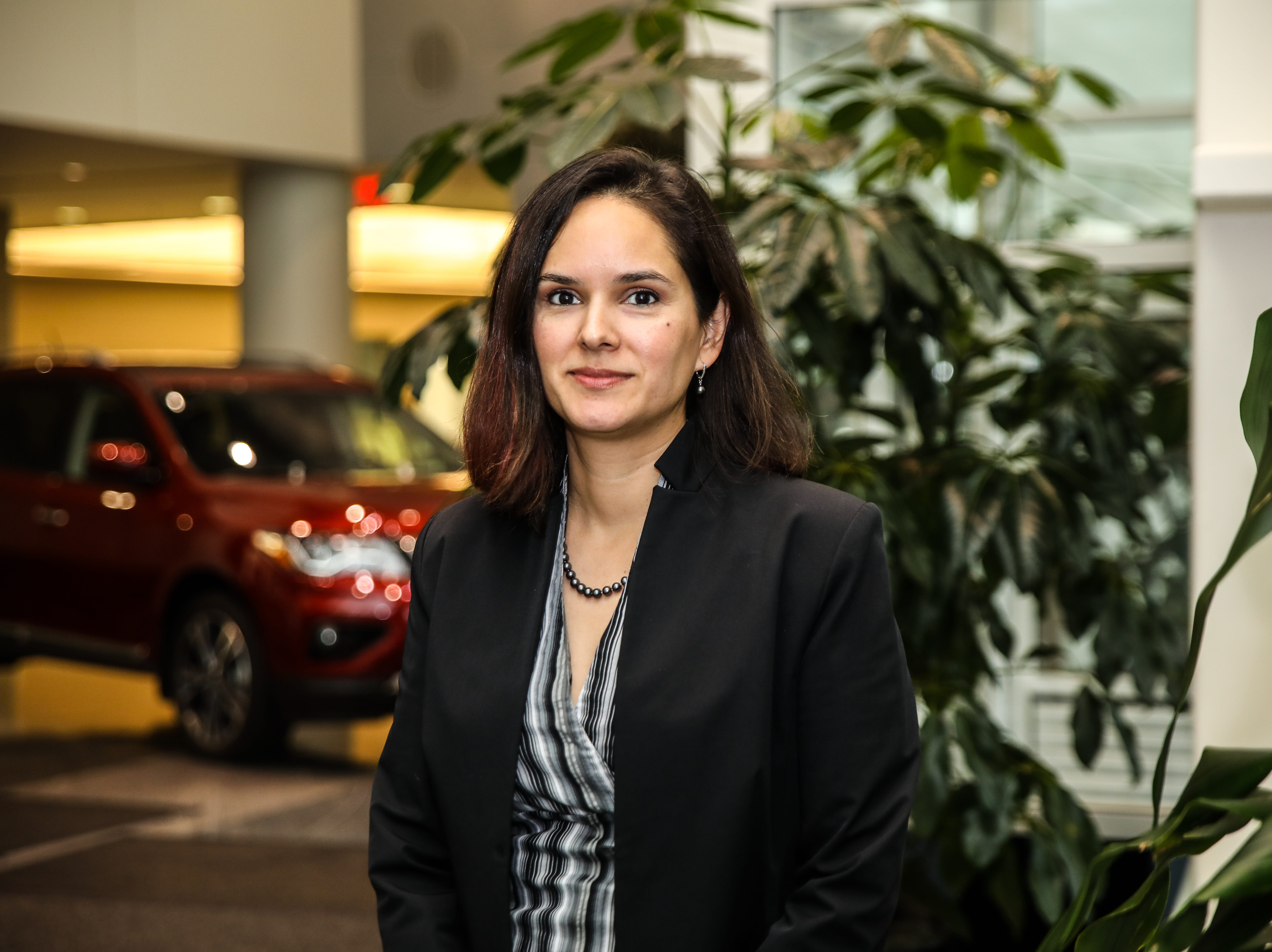Nissan engineer Marlene Mendoza co-developed a rear-door alert system for the automaker.