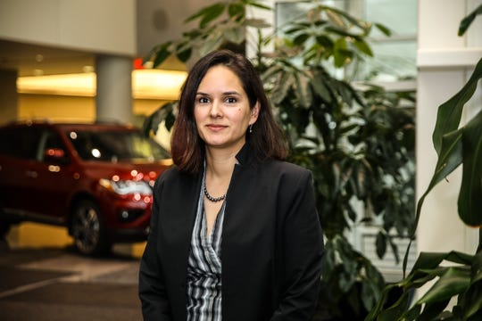 Nissan engineer Marlene Mendoza co-developed a rear-door alert system for the automaker.
