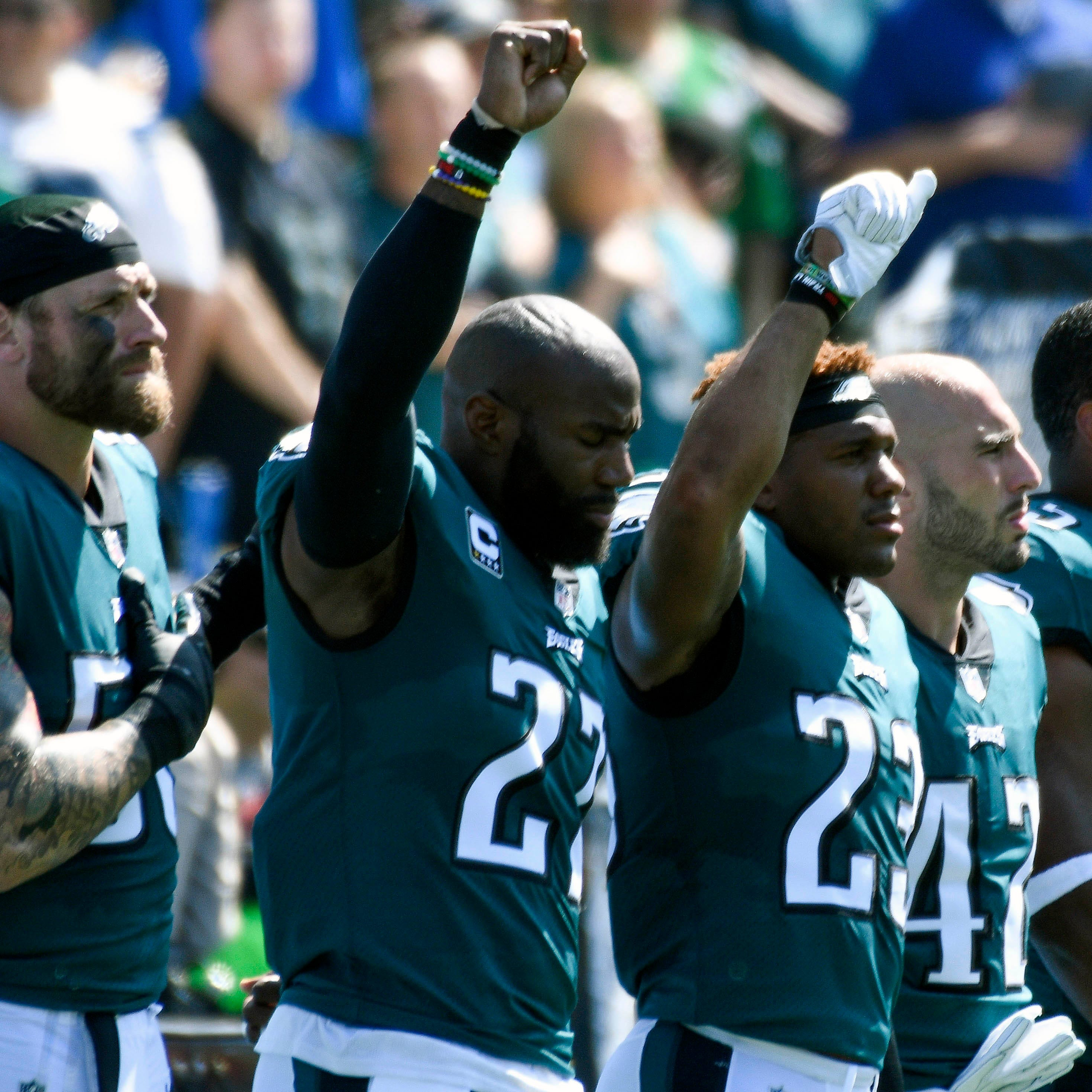 Eagles' Malcolm Jenkins issues challenge to supportive NFL owners: Stand up to Jerry Jones and his rhetoric
