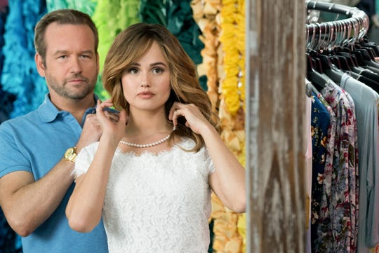 "Bob (Dallas Roberts) is a beauty pageant coach who has no idea what he's about to unleash on the world with his client, Patty (Debby Ryan),  in Netflix's ""Insatiable."""