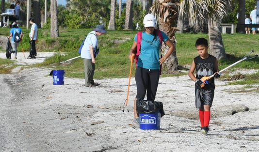 Keep Brevard Beautiful Florida Today Summer Series Cleanup
