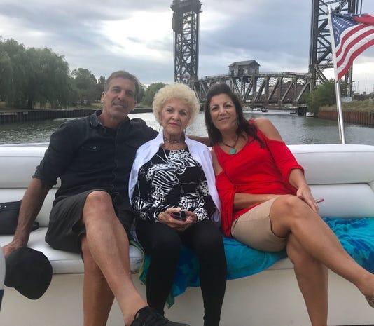 Chris Chelios & his mom