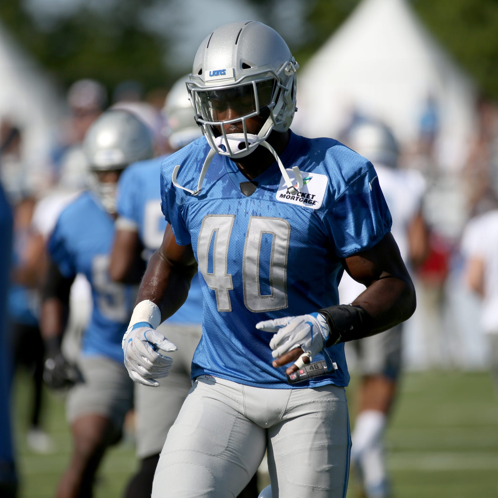 Detroit Lions' Jarrad Davis moving past 'bone-headed mistake' vs. Giants