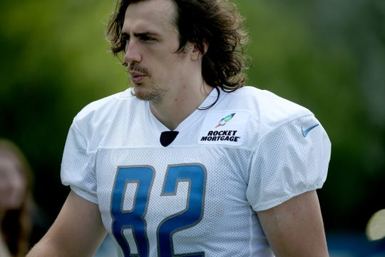 Luke Willson during training camp July 28.