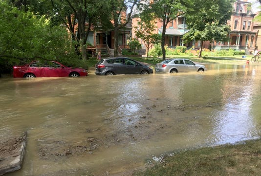 Flooding On Canfield