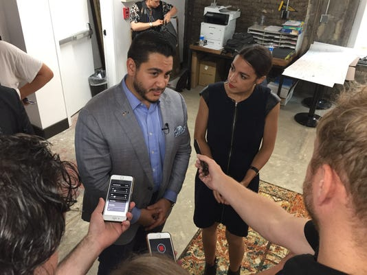 El Sayed And Ocasio Cortez