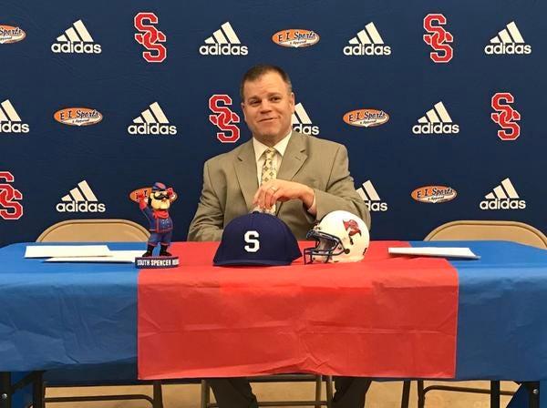 South Spencer first-year coach John Edge spent the previous 14 seasons coaching Owensboro Catholic.