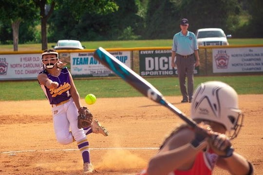 Jamie Jarvis' pitching helped lead the District 9 Senior softball team, comprised of players from the Cape Coral and Greater Fort Myers Little Leagues, to the Southeast Regional title in Salisbury, North Carolina.