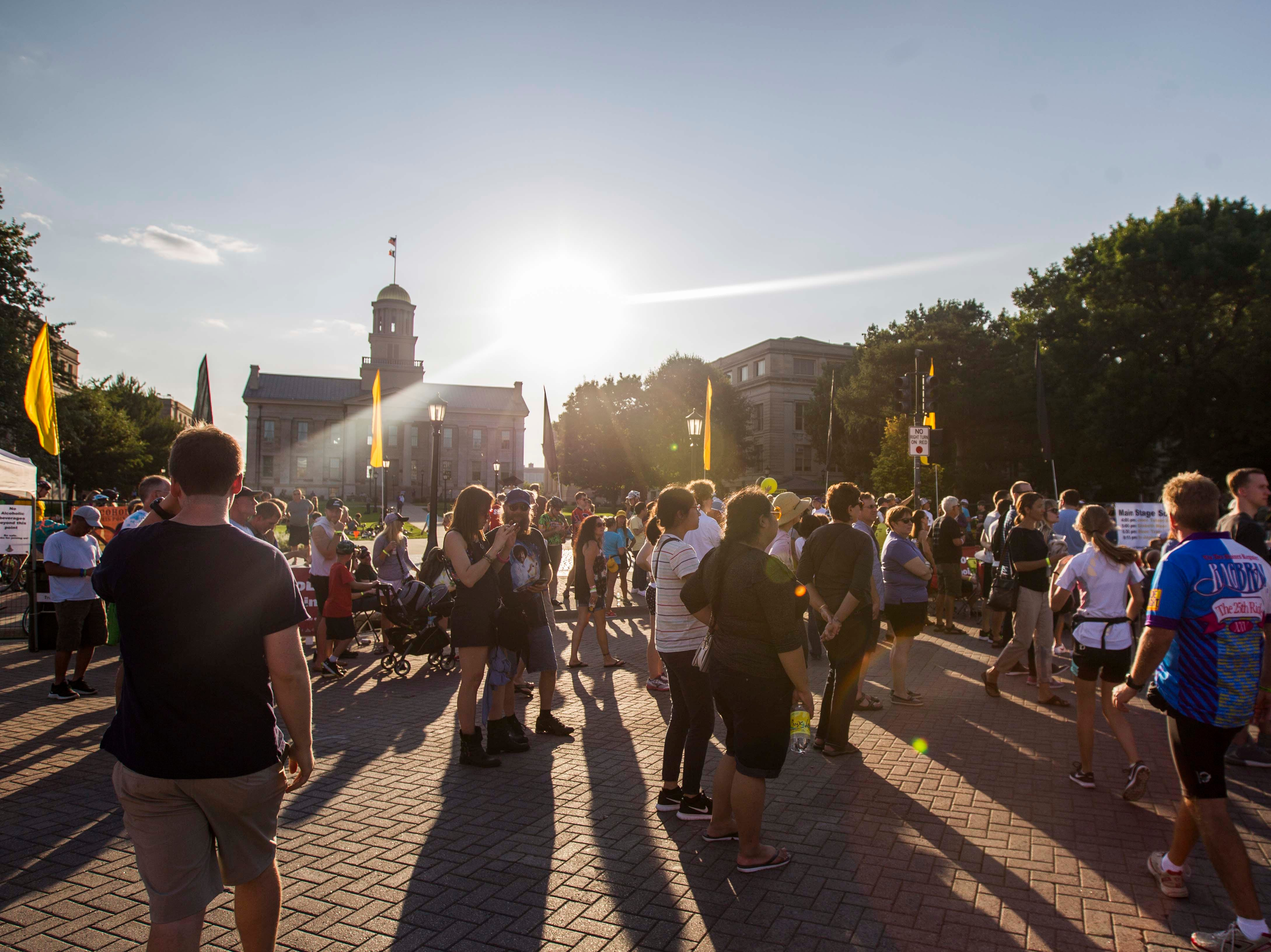 RAGBRAI Iowa City: Take a look back at the overnight stop in photos and video