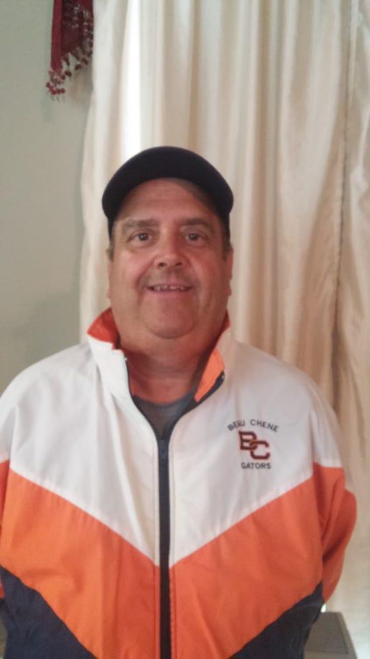 Beau Chene head football coach Richard Morales