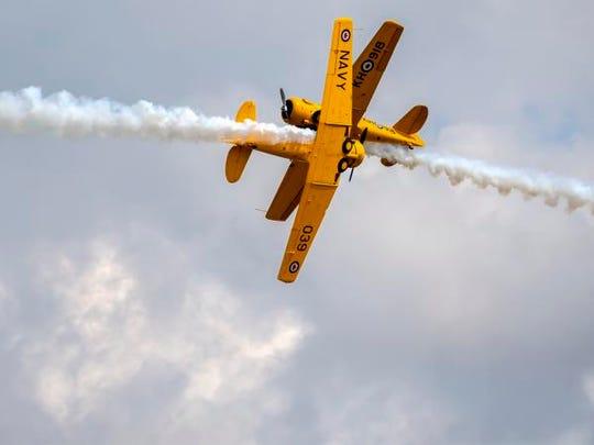 The U.S. National Aerobatic Championships come to Oshkosh Sept. 22.