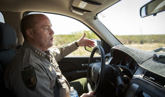 Cochise County Sheriff Mark Dannels' office has committed resources to complement Border Patrol's activities along the border, including a ranch patrol and a border task force.