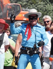 """Salisbury resident Garry Cherricks has played """"The Lone Ranger"""" across the United States for more than decade."""
