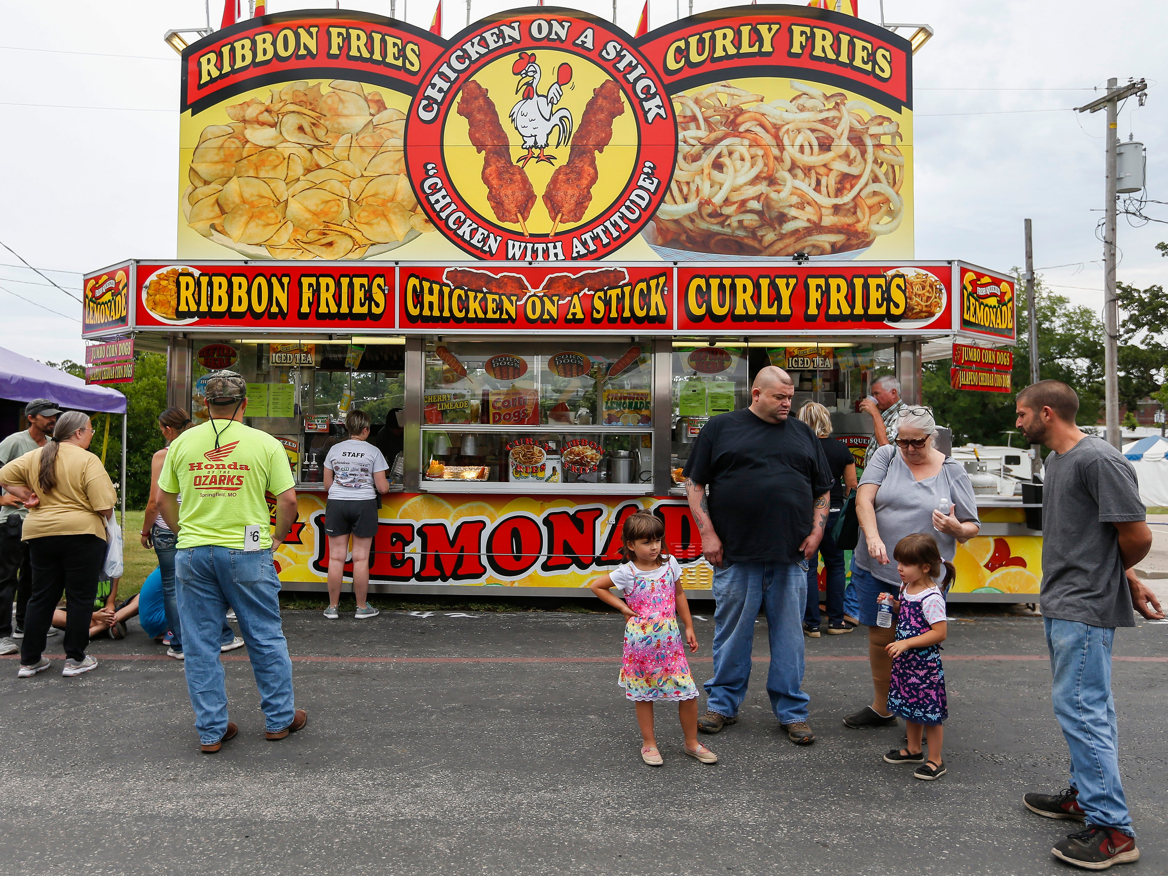 Scenes from the Ozark Empire Fair on Saturday, July 28, 2018.
