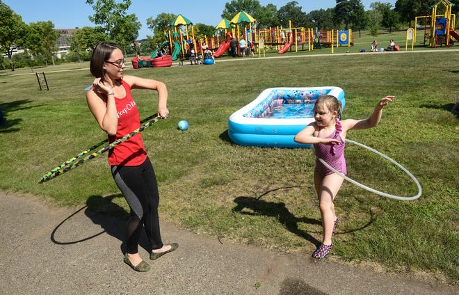 Hula Hoop Do Gooder Hands Out Hoops For Troops