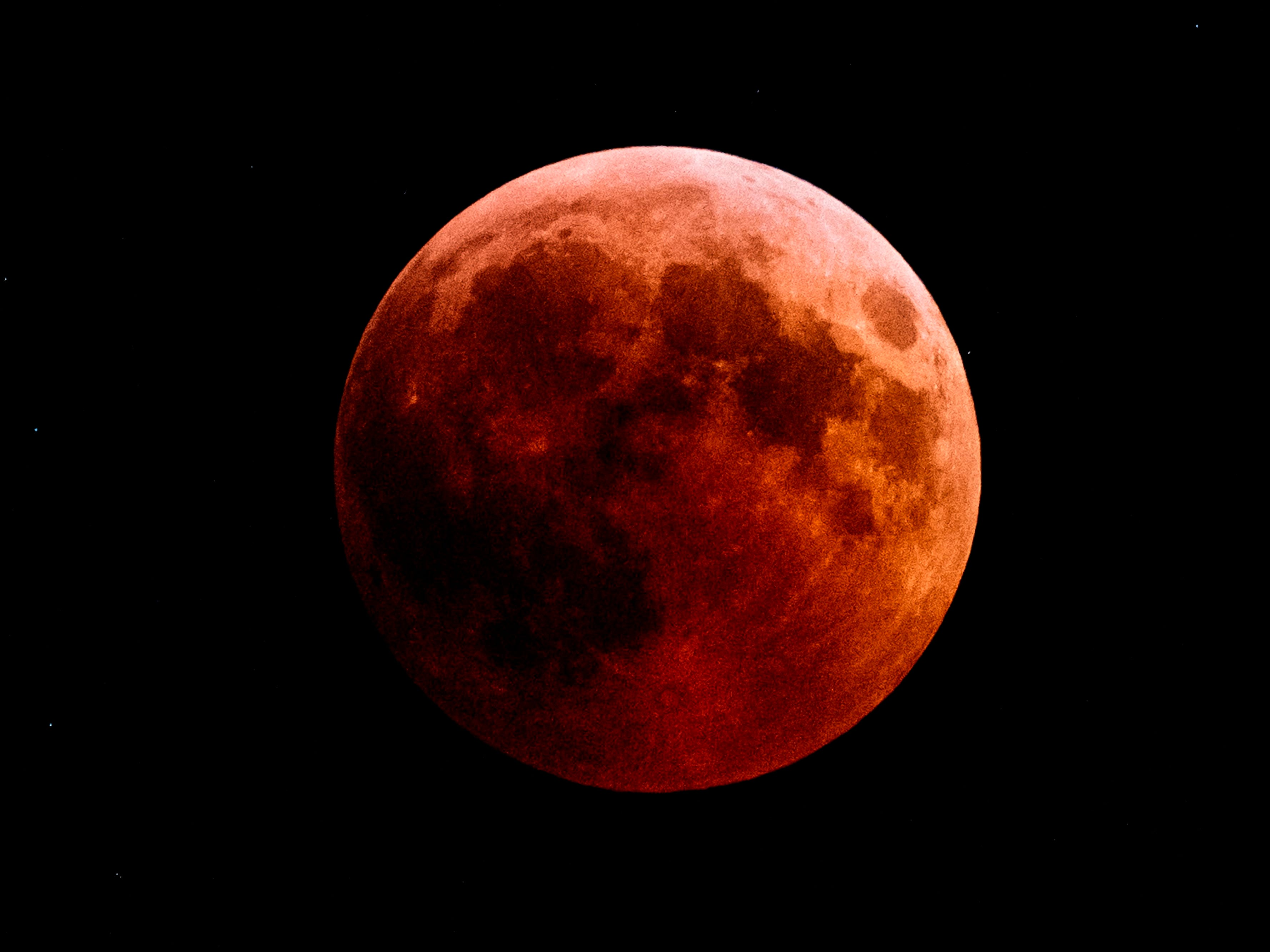Here's your guide to the 'super blood wolf moon eclipse'that's coming this weekend