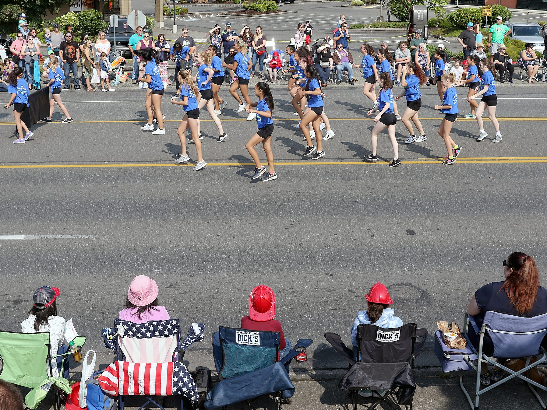 The Whaling Days Festival Parade along Silverdale Way in Silverdale, WA on Saturday, July 28, 2018.