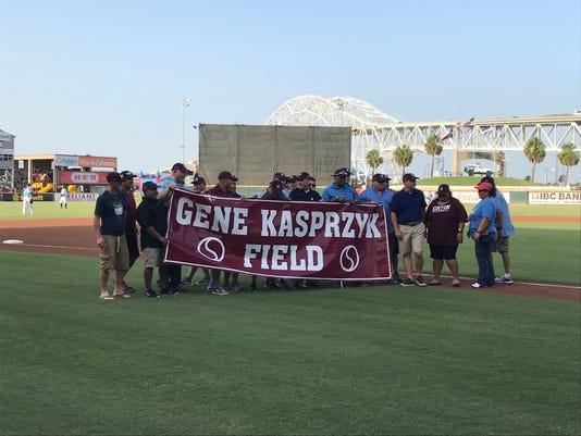 Gene Kasprzyk Banner