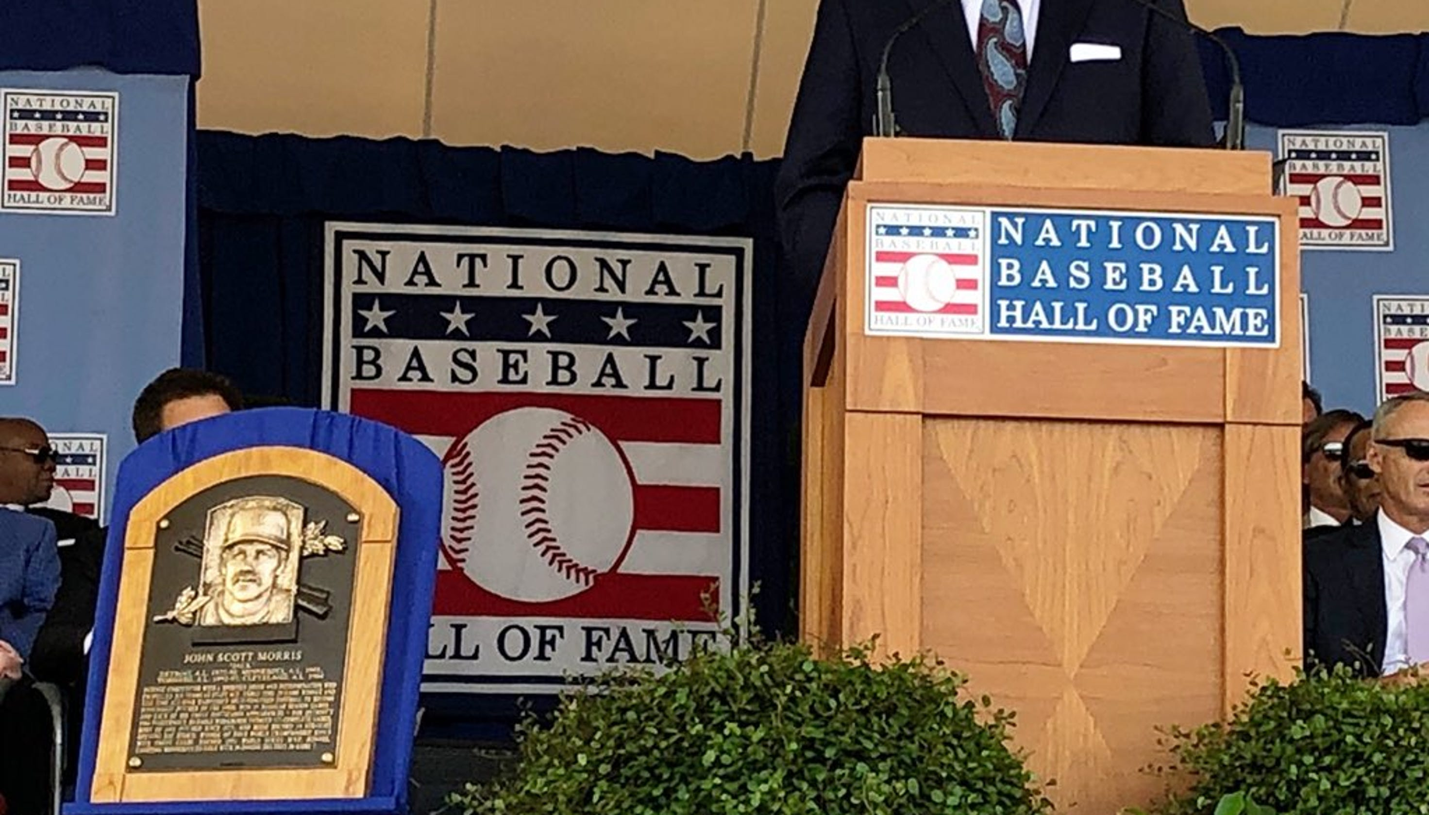 e26b734662 Jack Morris 2018 Baseball Hall Of Fame Plaque First Look