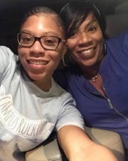 TeNiya Jones, 19, of Fort Myers, Florida, with her mother, Tosha Jones-Mora. The University of Kentucky student, who had been in Jordan as part of an Arabic-language program, drowned July 28, 2018, after being caught in a rip current off a beach in the Tel Aviv, Israel, suburb of Bat Yam.