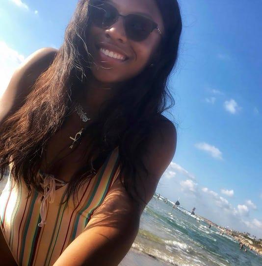 TeNiya Jones Beach Scene 2