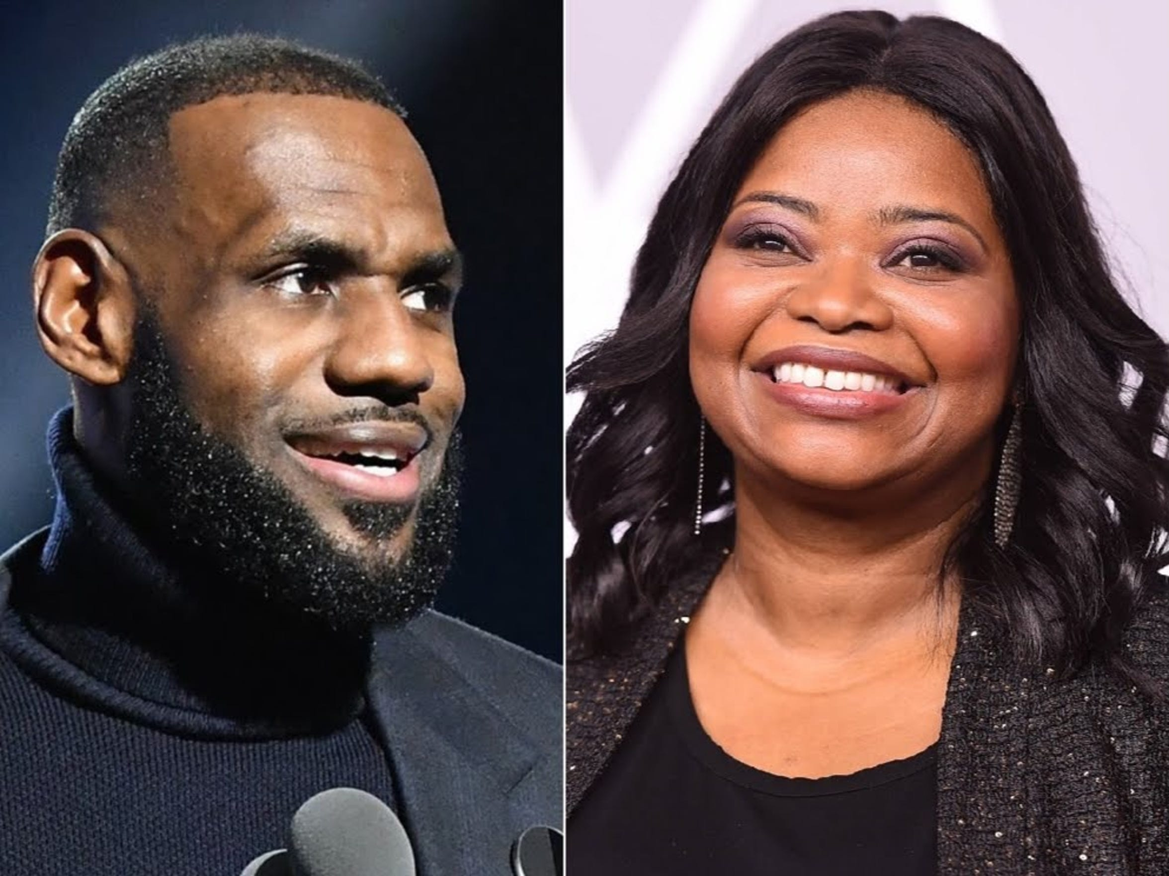 LeBron James, left, and Octavia Spencer will serve as executive producers for an upcoming Netflix series based on the life of Indianapolis entrepreneur Madam C.J. Walker. Spencer will star in the series.