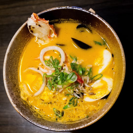 Zen Asian BBQ's ramen dishes are half off on Mondays during August and September.