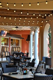 DeRomo's in the Promenade at Bonita Bay in Bonita Springs offers plentiful options for al fresco dining.