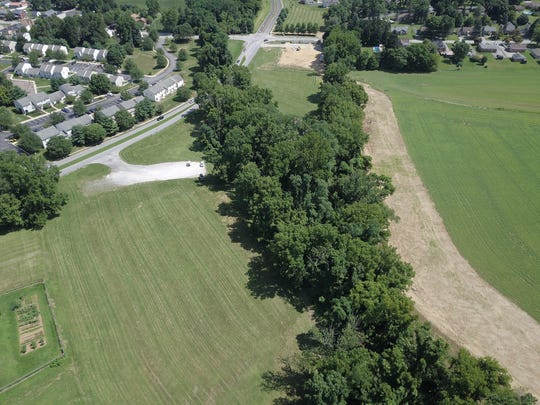 Aerial photographs of Camp Security Park in Springettsbury Township. Sunday, July 29, 2018. John A. Pavoncello photo