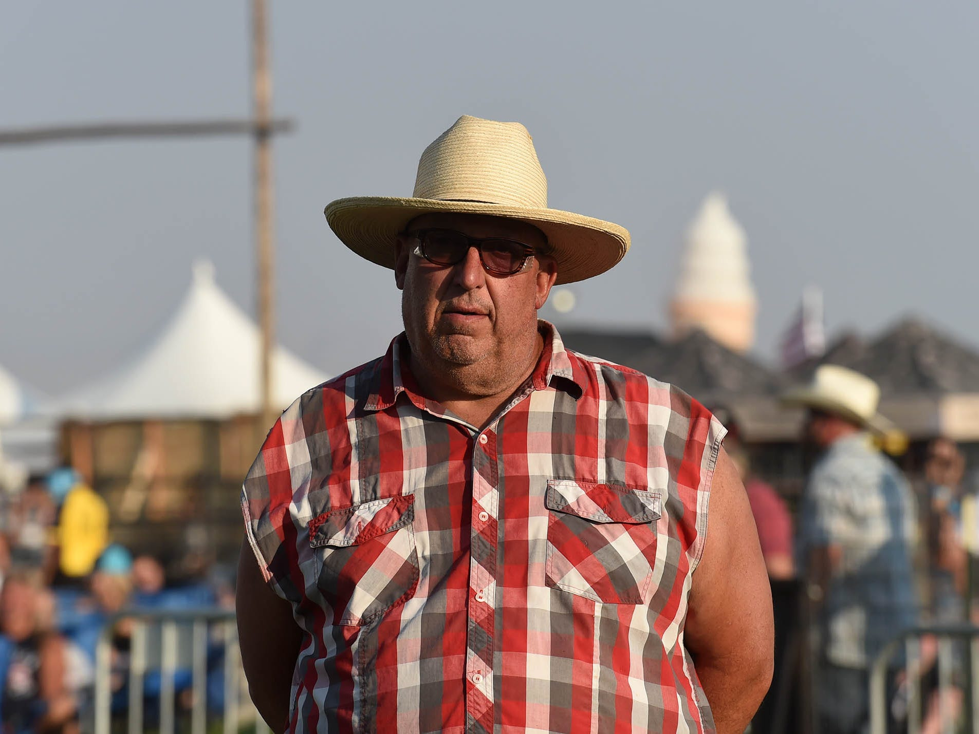 The fun continues on the final day of Night in the Country, where thousands of country fans gathered at the country music festival in Yerington, Nevada on July 28, 2018.