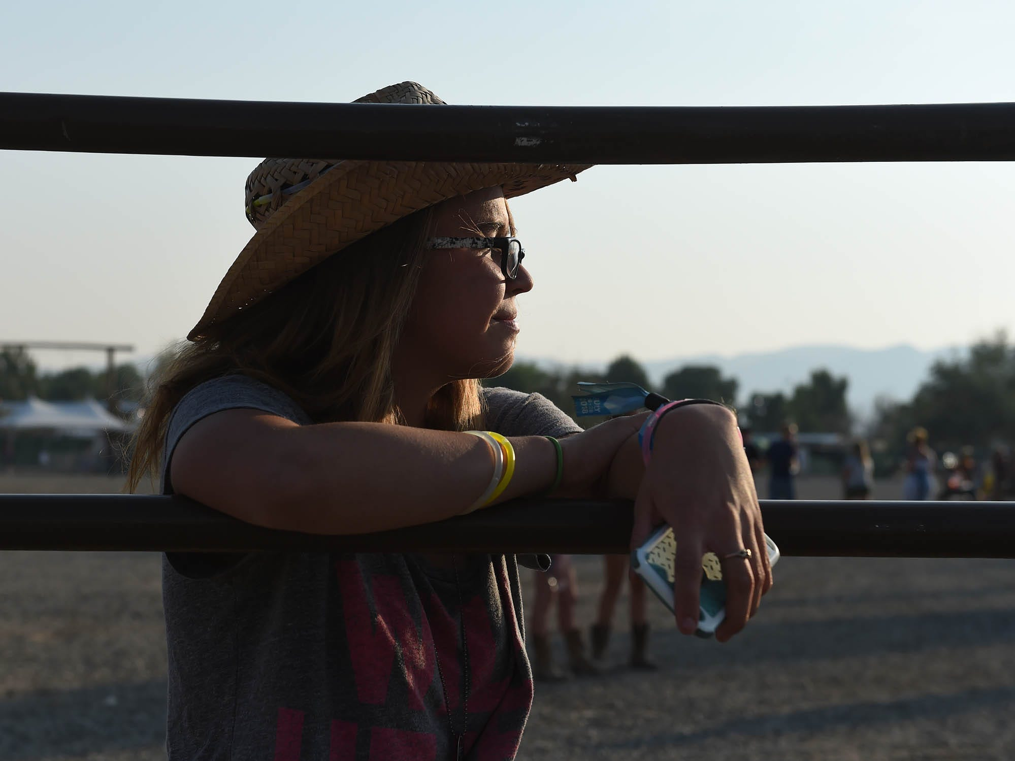 The fun continues on the final day of Nigh in the Country where thousand of country fans gathered at the country music festival in Yerington, Nevada on July 28, 2018.