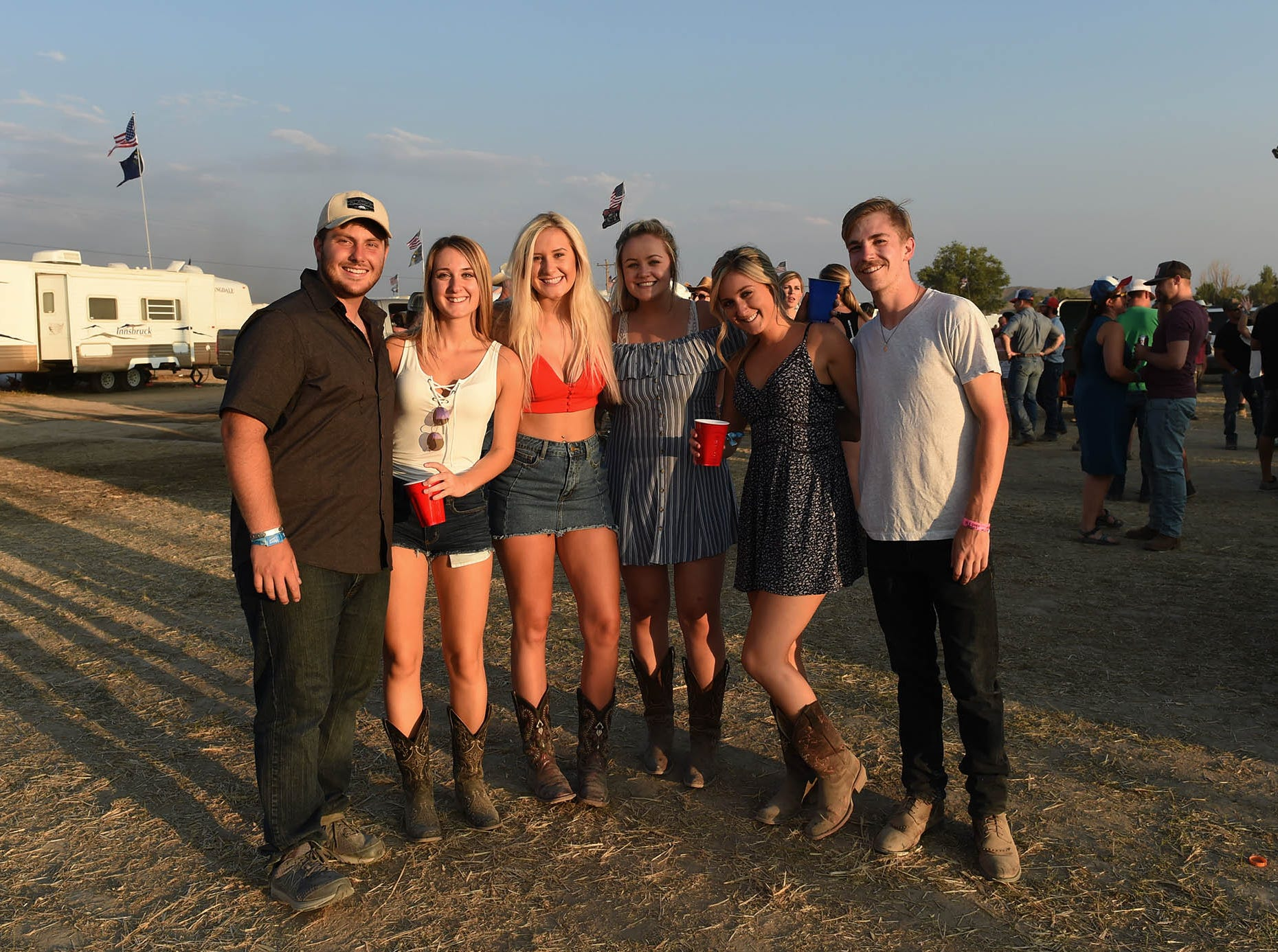 Thousands of country fans attended Friday's Night in the Country on July 27, 2018.