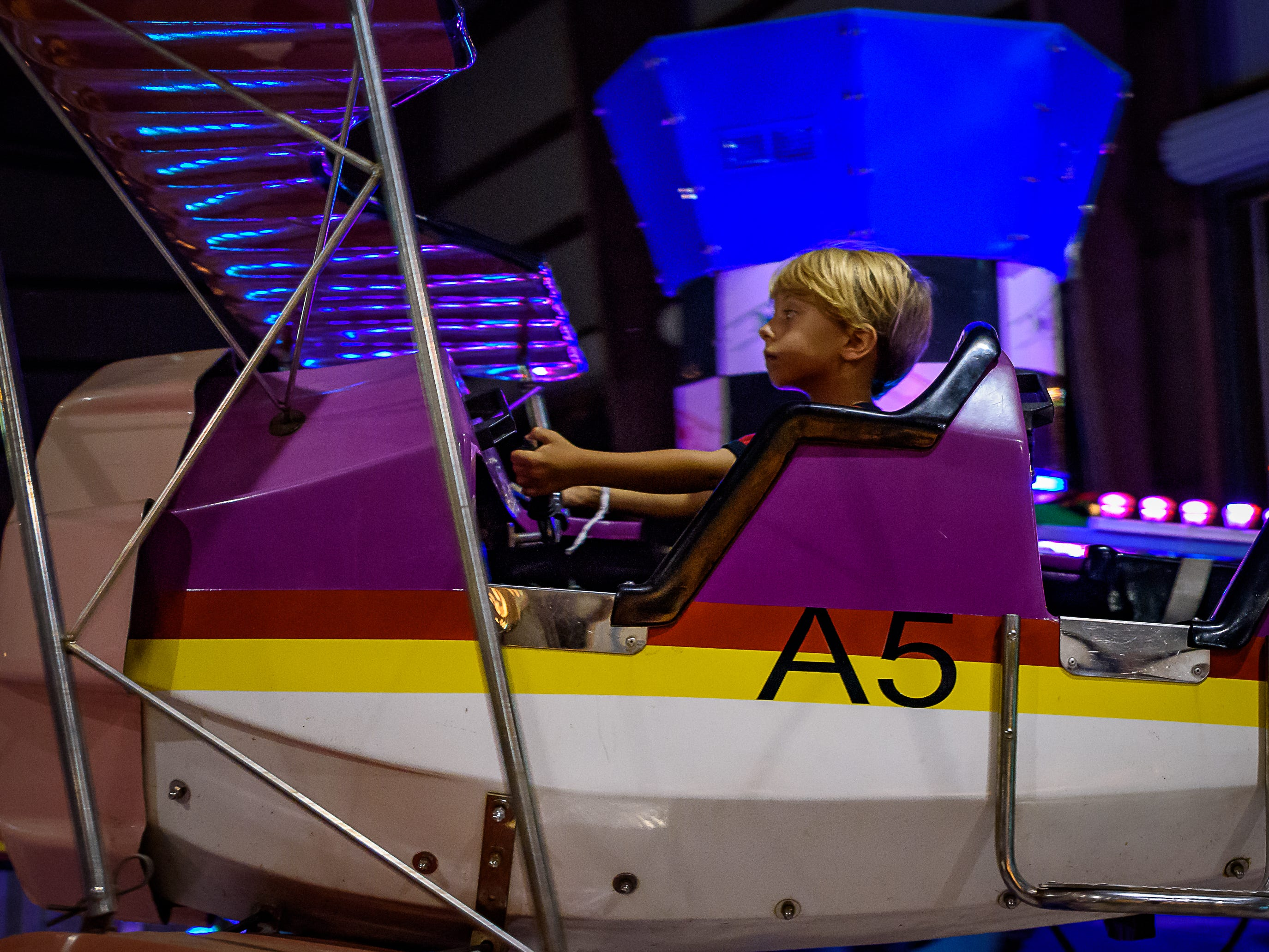 The Chincoteague Fireman's Carnival offers attractions for patrons of all ages.