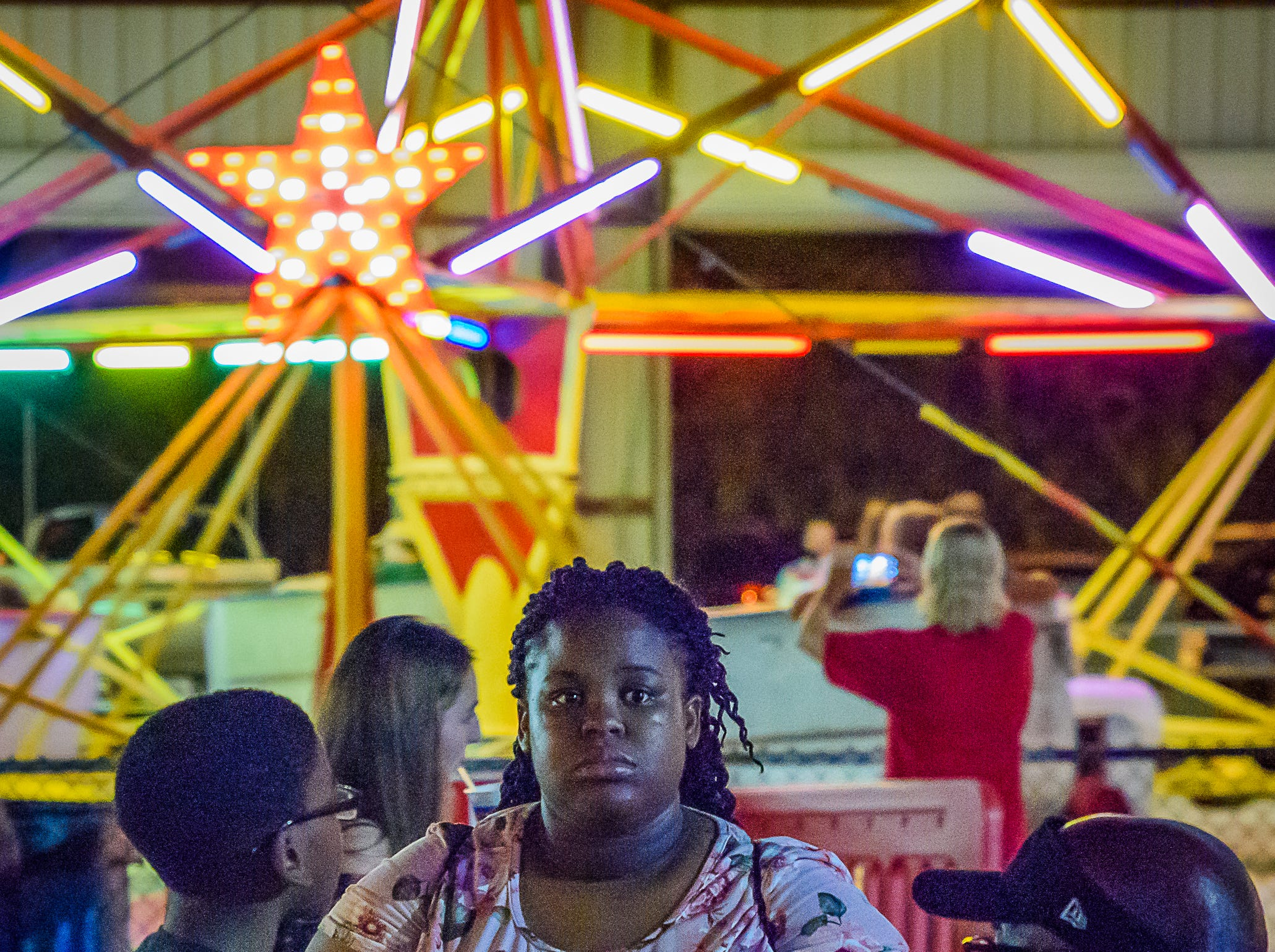 Attendees at the fair had a variety of attractions to choose from at the Chincoteague Fireman's Carnival.