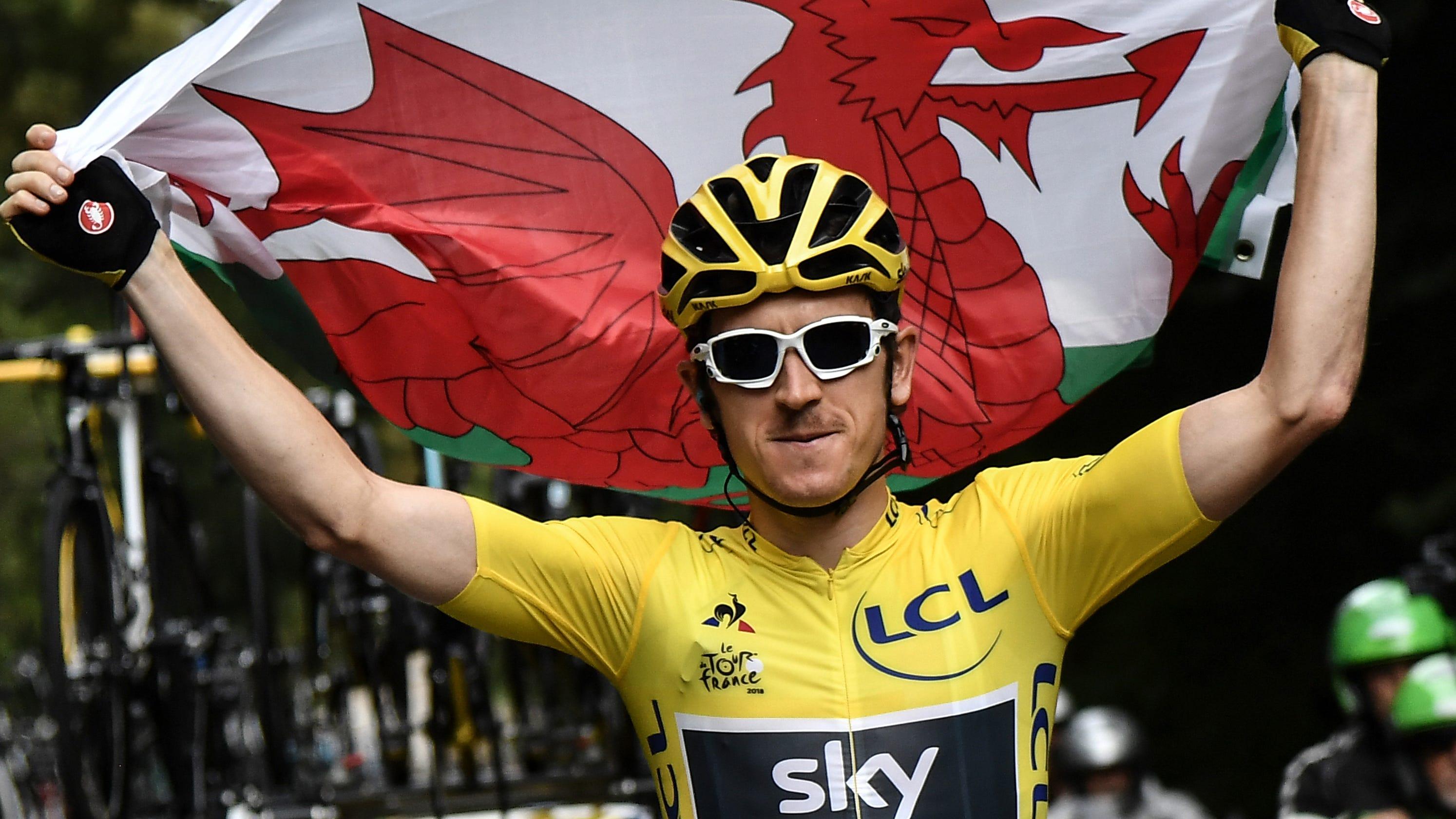 d2b4aceca Tour de France 2018  Geraint Thomas makes history with title