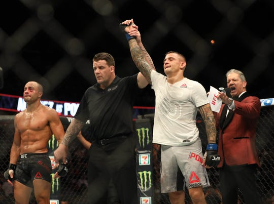 Dustin Poirier defeated Eddie Alvarez at UFC on FOX 30.