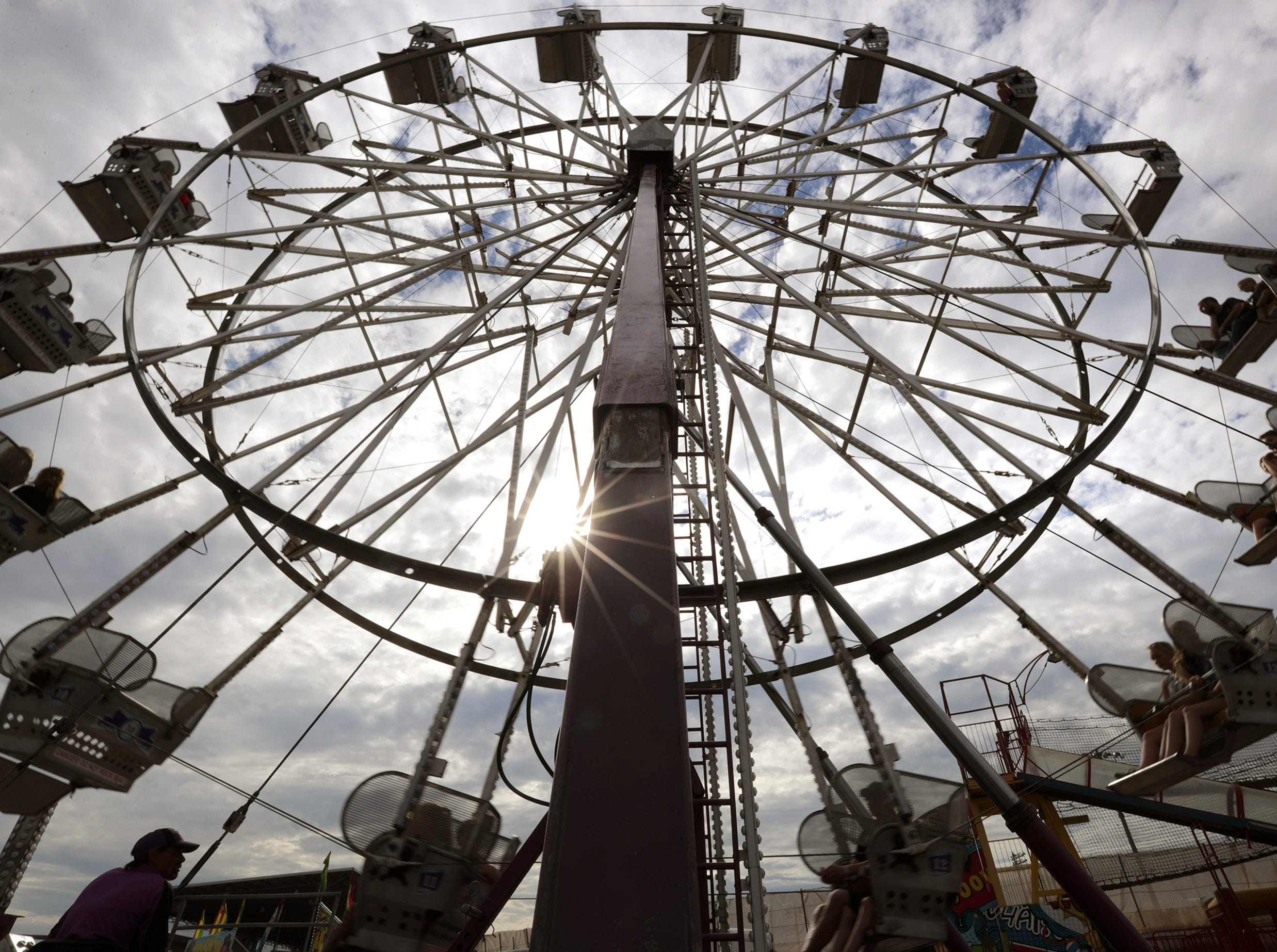 The Outagamie County Fair on Wednesday, July 25, 2018 in Seymour, Wis. Wm. Glasheen/USA TODAY NETWORK-Wisconsin