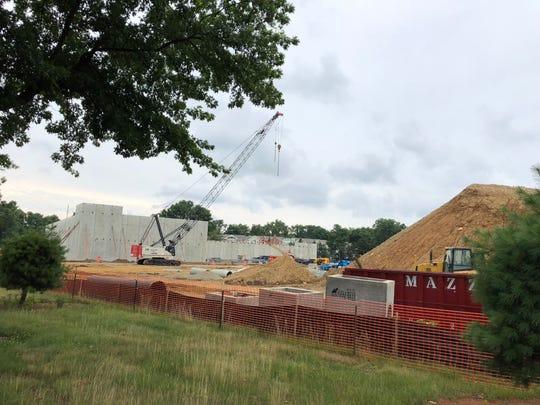 ShopRite is under construction on Shrewsbury Avenue in Shrewsbury.
