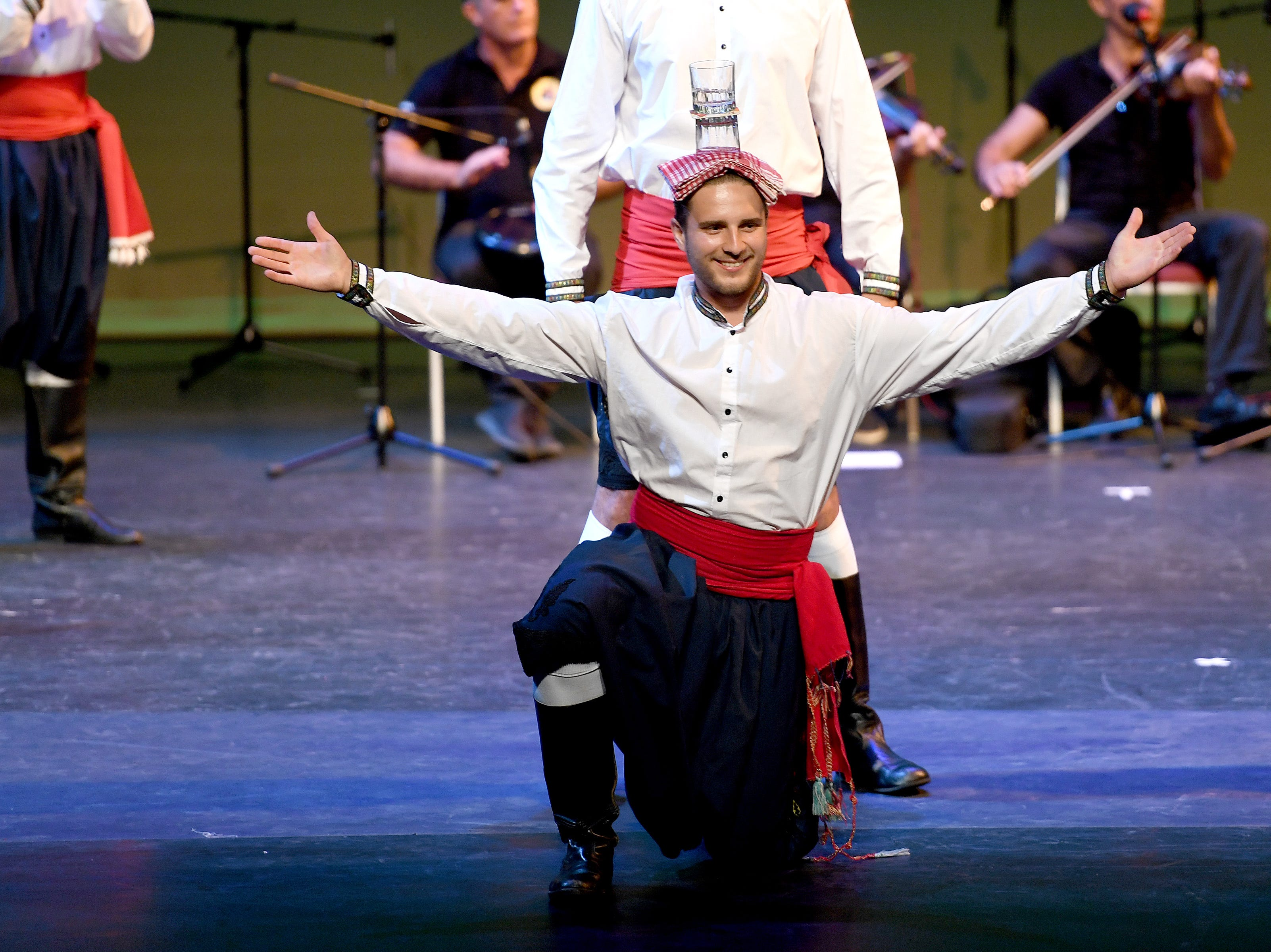 Folkmoot 2018 brought performers from around the world together to showcase their traditional folk dances on stage at the Diana Wortham Theatre on Friday, July 27, 2018.