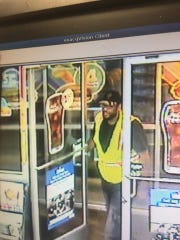 Police say this man is suspected of stealing more than $2,000 worth of cigarettes at Wawa in Cinnaminson.