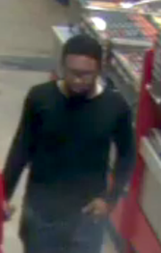 Des Moines police are asking for the public's help in identifying this man who violently assaulted a convenience store employee.