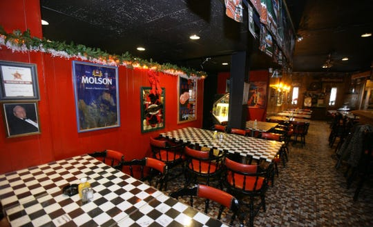 Interior of Checker Bar on Feb. 29, 2008.