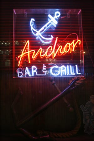 The Anchor Bar at 450 W. Fort in downtown Detroit.