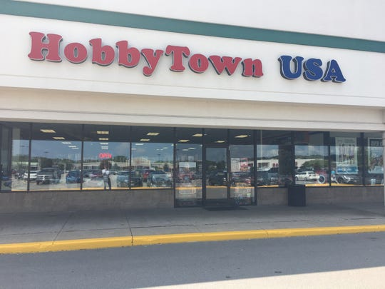 Hobbytown USA, 2795 S. Oneida St., in Ashwaubenon, now carries RadioShack products.