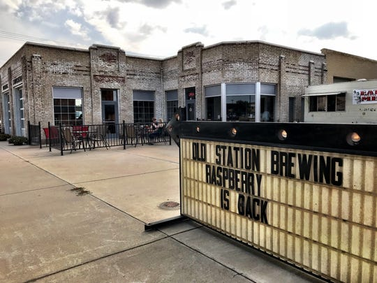 Old Station Brewing Co. opened in the former Heltne's Service Station at 140 1st Street in Havre in May.