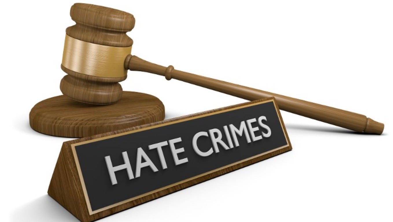 Indiana is one of five states without a hate crimes law.