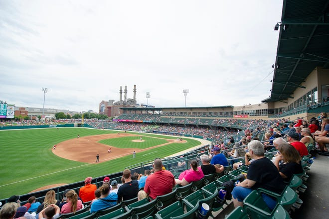 The Indianapolis Indian's hosted the Buffalo Bisons in Minor League Baseball action at Victory Field, Sunday, July 29, 2018. The Tribe lost 2-1 in the front side of a double-header.