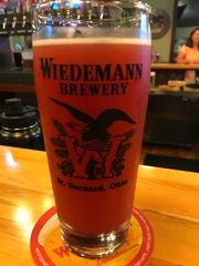 Wiedemann Brewery's Raspberry Wheat Tart Ale.